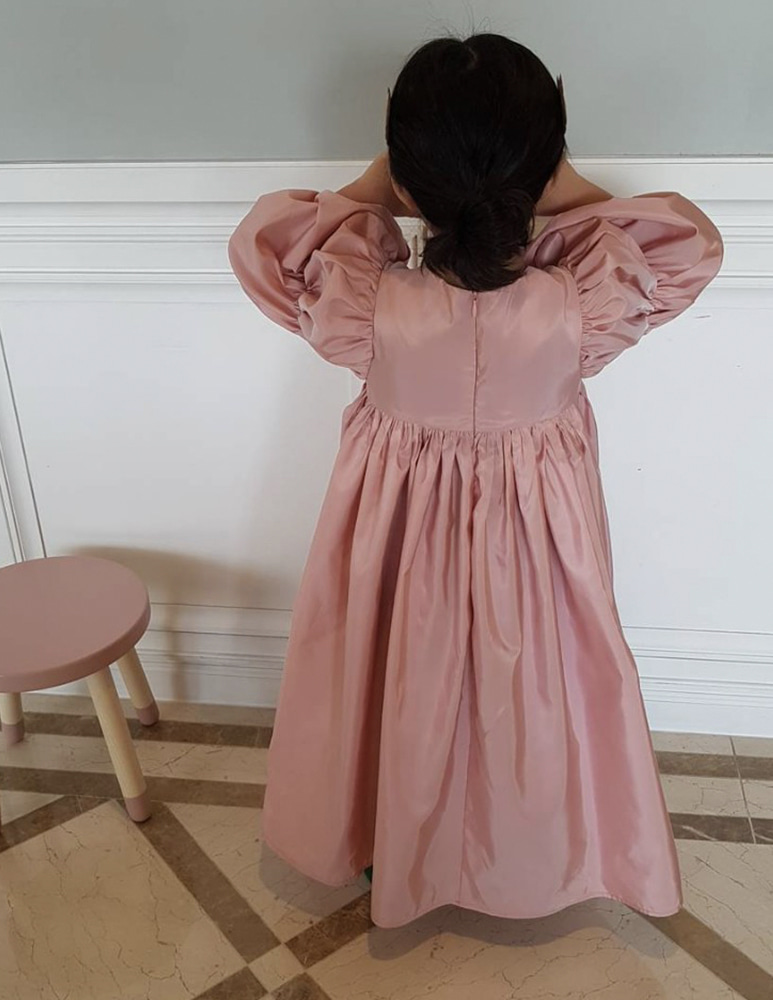 Juliet Dress - Pink, 마망살롱
